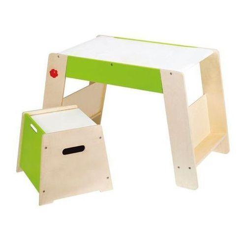 Hape  drewniany stolik + krzesełko dla dzieci