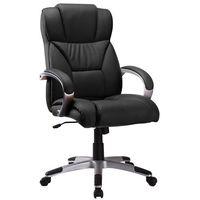 Fotel biurowy q-044 czarny marki Signal