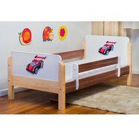 Łóżko dziecięce drewniane  babydreams auto wyścigowe kolory negocjuj cenę marki Kocot-meble