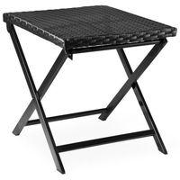 Wideshop Stół składany stolik polirattan meble ogrodowe (4250525322651)