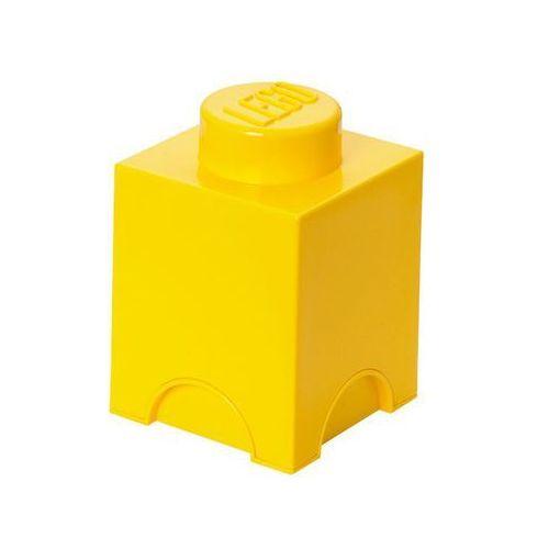 POJEMNIK LEGO 1 ŻÓŁTY - LEGO POJEMNIKI z kategorii pojemniki na zabawki