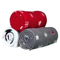Trixie Kocyk z motywem świątecznym mix kolorów 100x70cm nr kat. 924681, 42