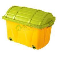 Skrzynia Pirata kufer morelowy zielony OK-0571