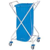 Wózek na odpady pojedynczy na worki 120l  marki Splast