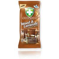 GREEN SHIELD 50szt Wood&Laminate chusteczki do drewna i laminatu