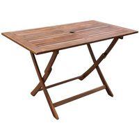Vidaxl  stół ogrodowy jadalniany z drewna akacjowego (8718475965732)