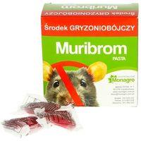 Trutka na szczury, trutka na myszy. Muribrom - pasta saszetki.