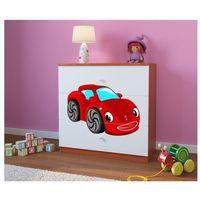 Komoda dziecięca  babydreams czerwone auto kolory negocjuj cenę marki Kocot-meble