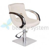 Fotel fryzjerski nino bd-1131 kremowy marki Beauty system