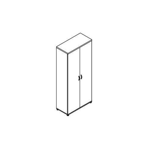 Szafa ubraniowo-aktowa 2-drzwiowa h52 wymiary: 80,2x38,5x183,3 cm marki Svenbox