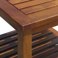 Wideshop Stół stolik z drewna meble ogrodowe kuchenny nocny