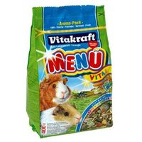 Vitakraft  menu vital pokarm dla świnek morskich opak.400g-1kg