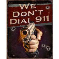 metalowa tabliczka colt 911 marki Postershop