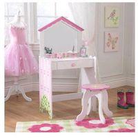 - toaletka w kształcie domku dla lalek + krzesełko - 13035 marki Kidkraft