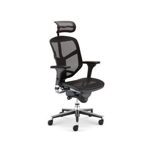 Fotel ERGO Enjoy R HRMA z kategorii krzesła i fotele biurowe