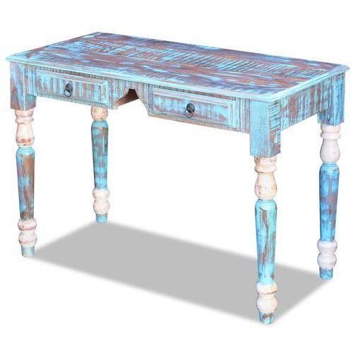 biurko z drewna odzyskanego marki Vidaxl
