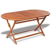 Vidaxl  stół ogrodowy jadalniany z drewna akacjowego (8718475965725)
