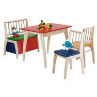 krzesła i stolik bambino kolorowe marki Geuther