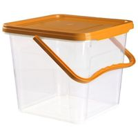 Plafor Pojemnik clean box 6,3 l. [pomarańczowy]