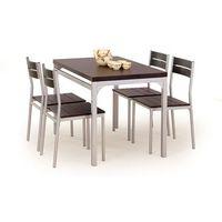 Halmar Zestaw  malcolm stół + 4 krzesła