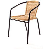 Happy Green Krzesło ogrodowe Ratan PE A08866