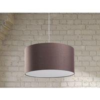 Lampa sufitowa wisząca - żyrandol brązowy - oświetlenie - ELBE (7081451736925)