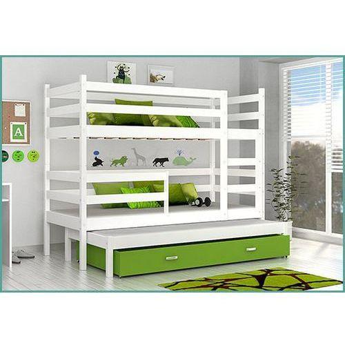 Łóżko piętrowe placek 3 mdf marki Meble largo