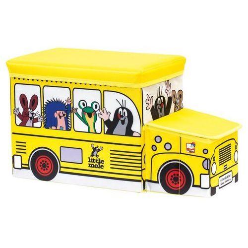 Bino pudełko na zabawki Krecik autobus, kup u jednego z partnerów