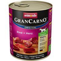 Animonda Grancarno Adult - wołowina/serca 800g