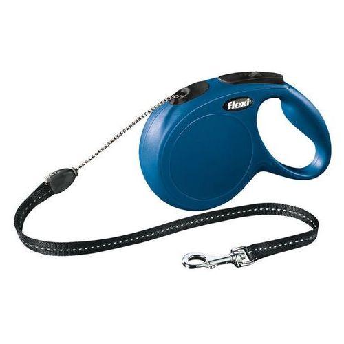 Flexi New Classic Smycz linka M 8m niebieska [FL-2818]