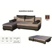 Narożnik MARCO funkcja spania dwa pojemniki