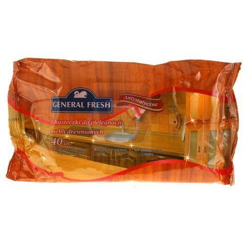 General Fresh Chusteczki do czyszczenia mebli antystatyczne 40 szt. oferta ze sklepu Super Koszyk