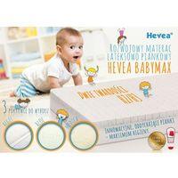 Materac piankowo-lateksowy  baby max 140x70 marki Hevea