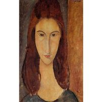 Ramarama.pl Jeanne hebuterne - the artist's wife - amadeo modigliani