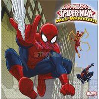 """Serwetki """"Spiderman"""" Człowiek-Pająk, duże 33 cm 20 szt."""