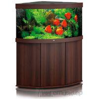 Juwel  trigon 350 led akwarium narożne o pojemności 350l z wyposażeniem/ ciemne drewno