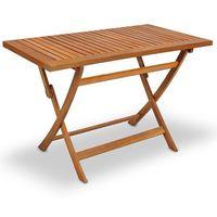 Meble drewniane ogrodowe sydney stół 120x70x75 cm marki Wideshop