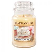 Yankee Candle Świeca Zapachowa - Duża - Vanilla Cupcake
