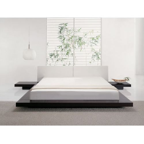 Łóżko wodne 180x200 cm materac wodny rama piankowa pokrowiec - ZEN