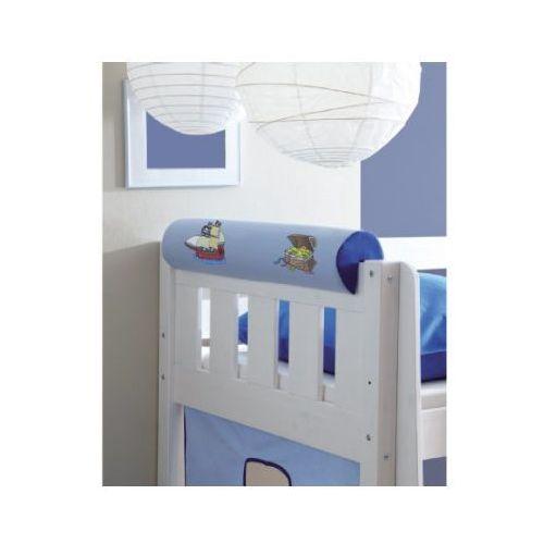 TICAA Wałek/podłówek do łóżka Pirat kolor jasno- i ciemnoniebieski (4250393880291)