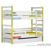 Łóżko piętrowe Design