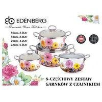 GARNKI EMALIOWANE EDENBERG STONE 8 ELE [EB-1833]