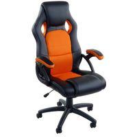Giosedio Fotel biurowy rca czarno-niebieski (5902751541014)