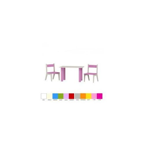 Stolik i dwa krzesełka FLOWER