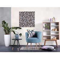 Mozaika - ozdoba na ścianę - dekoracja - 84x84 cm - envi multicolor marki Beliani