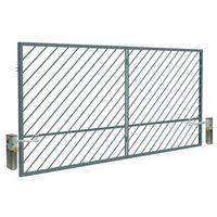 Brama automatyczna  ofelia 4 0 x 1 5 m ocynk malowany ral 7016 marki Polbram steel group