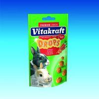 Vitakraft Drops - naturalne dropsy dla królików różne smaki