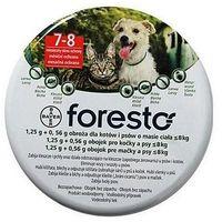 Bayer Foresto Obroża 1,25g + 0,56g dla kotów i psów o masie ciała poniżej 8kg - tak \ 38cm - sprawdź w wybranym sklepie