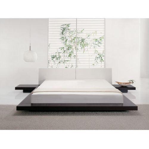 Łóżko wodne 180x200 cm materac wodny rama piankowa pokrowiec - ZEN - oferta [1505ea0651b29354]