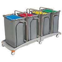 Splast Wózek na odpady poczwórny 4x120l tso-0015  (5907781421565)